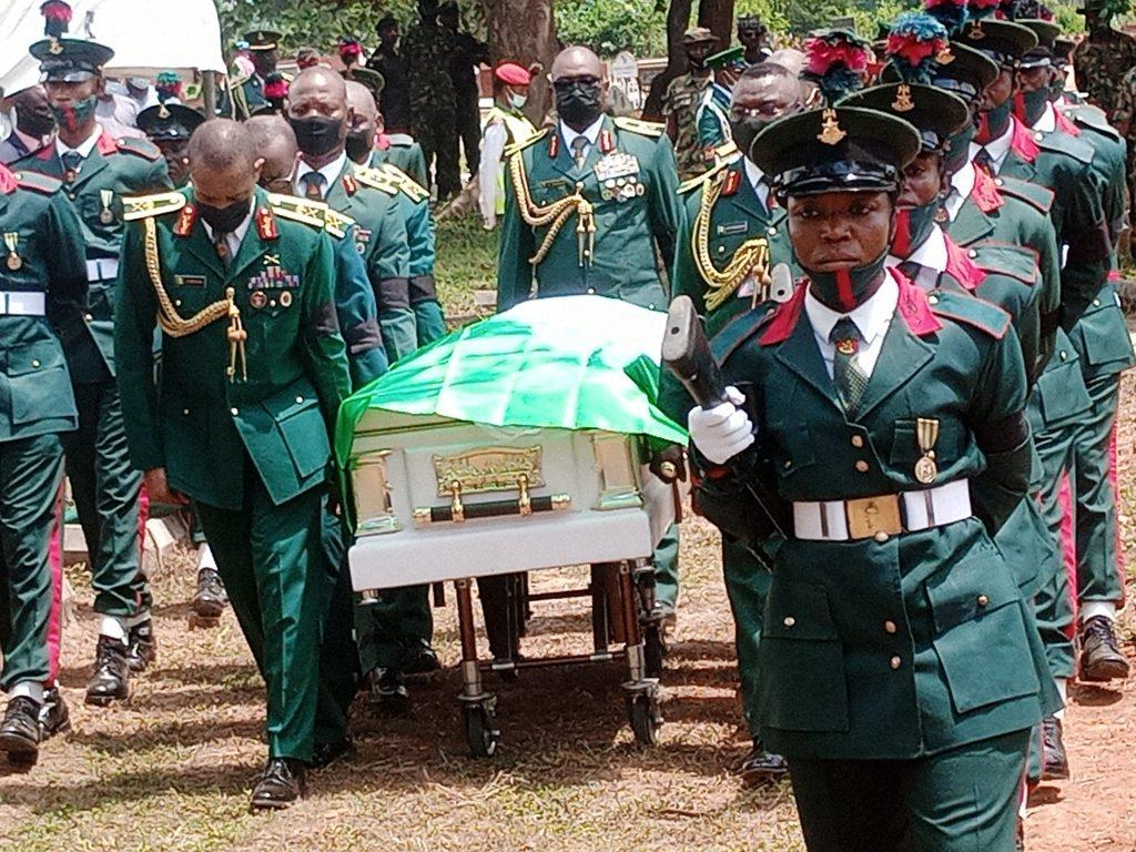 Nigerian Army buries Artillery School commandant in Abuja