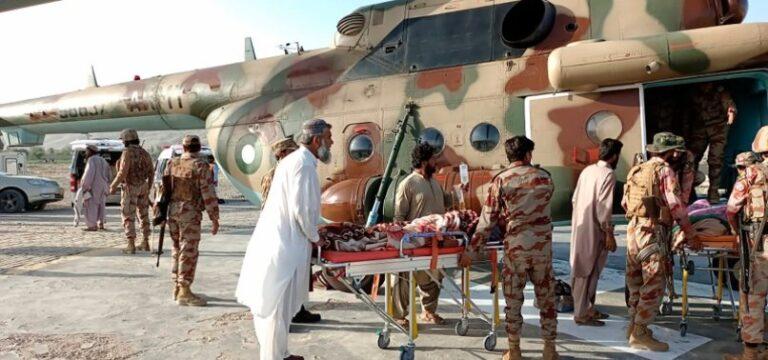 Pakistan deploys troops after earthquake kills 20