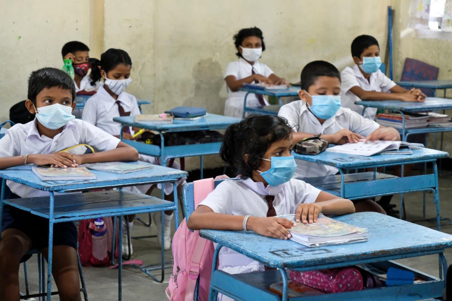 COVID-19: Sri Lanka reopens schools after year of closures