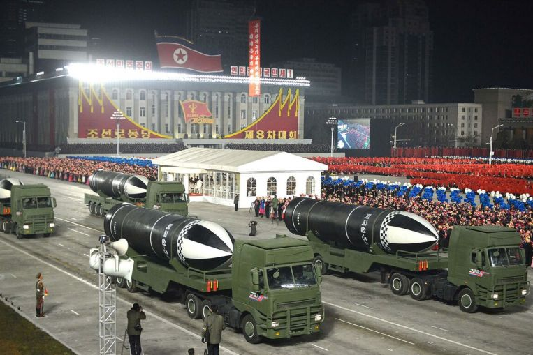 Renewed focus on N/Korean military after sub-launched missile test