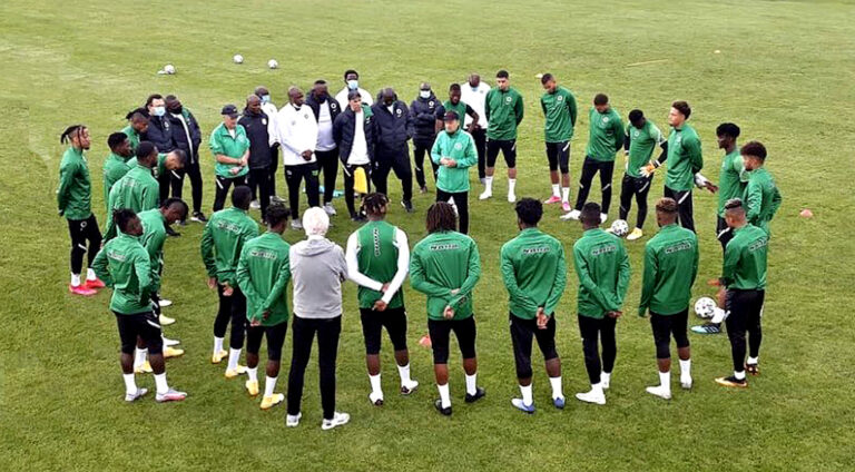 FIFA World Cup 2022 Qualifiers: 22 Eagles arrive camp [See List]