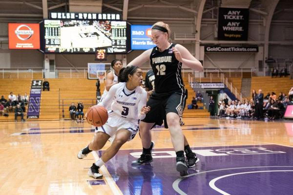 Women's Basketball: Northwestern falls at home to Purdue ...