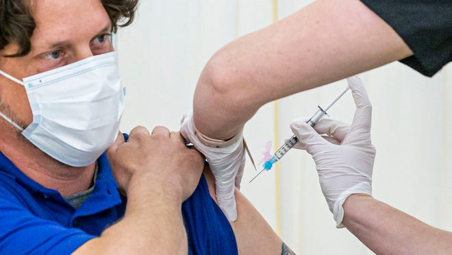 Some States Open Vaccine Eligibility For All, But It Is Weeks Away For Others