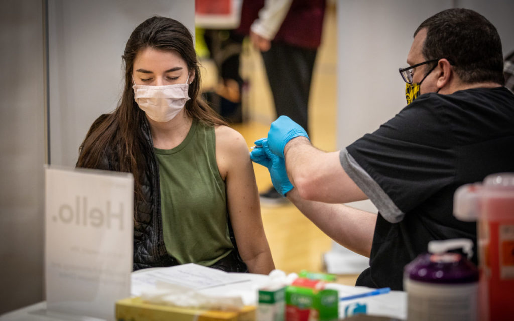 Challenge Getting Younger Americans Vaccinated