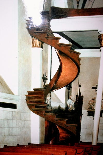 Miraculous Staircase Of Saint Joseph…Sante Fe New Mexico   Stairs Of Loretto Chapel