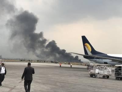 نیپال کے دارالحکومت میں بنگلہ دیش کا مسافر طیارہ گر کر تباہ، 17 افراد کو بچا لیا گیا، ریسکیو آپریشن جاری