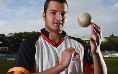 آسٹریلیا میں پاکستانی کرکٹر عثمان قادر کا تیز رفتاری پر چالان