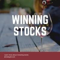 winning stocks