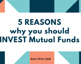 5 reasons why you should invest mutual funds