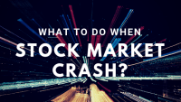 what to do when stock market crash