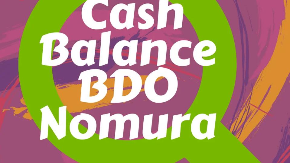 how to check cash balance bdo nomura