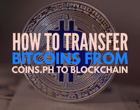 how to transfer bitcoin from coins.ph to blockchain