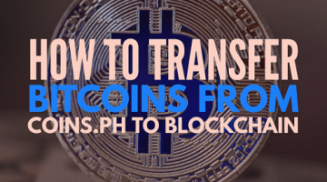How to Transfer Bitcoins from Coins.ph to Blockchain Account