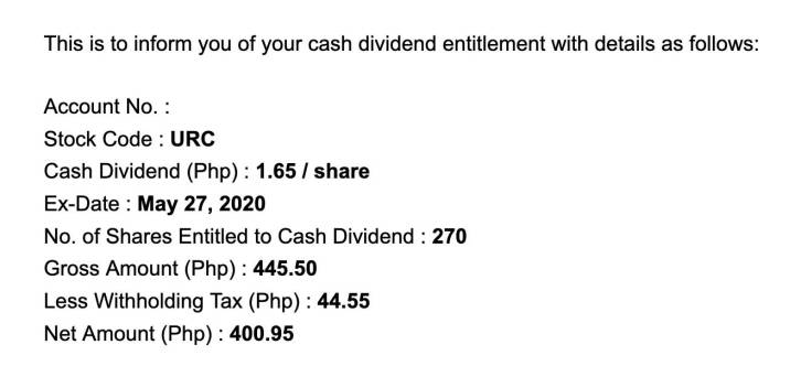 top dividend stocks philippines