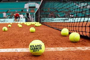 tennis balls roland garros french open