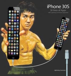 iphone 5 jokes bruce lee