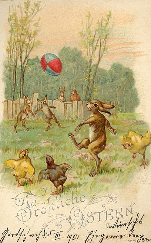 Happy easter - rugby