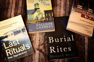 Icelandic books contemporary novels