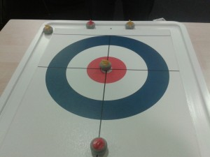 table curling winter olympics olimpiadi invernali