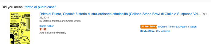 dritto al punto chase! vol1 amazon best seller etichetta