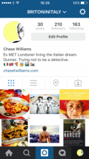 instagram account, new instagram, chase williams, chase williams instagram