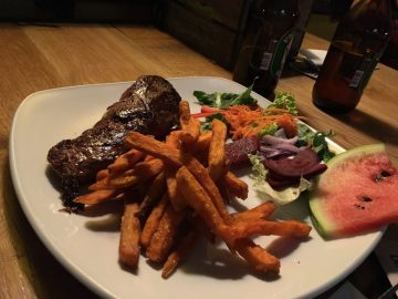 Kangaroo steak in exeter