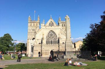 Exeter cathedral - break in devon - exeter city