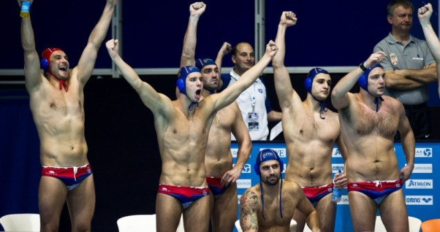 Torneo Olimpico di pallanuoto maschile serbia