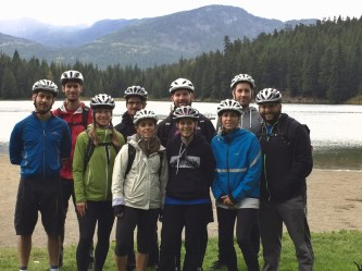 Valley Bike Ride - Automattic GM Whistler 2016