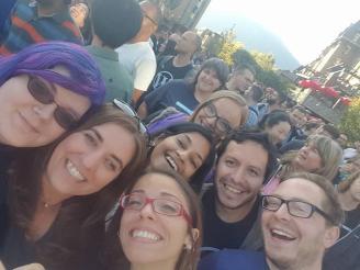 Selfie with random Automatticians