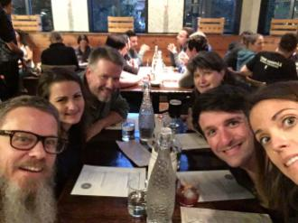 Dinner with Automatticians - Automattic GM Whistler 2016