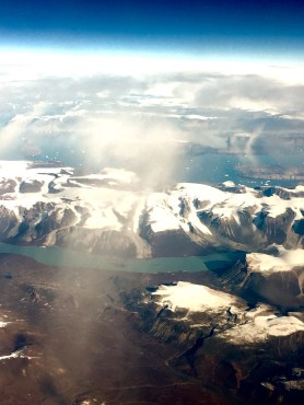 Canada is infinite. From the plane I watched its lands changing from ice to valley to mountains. Absolutely breath taking.
