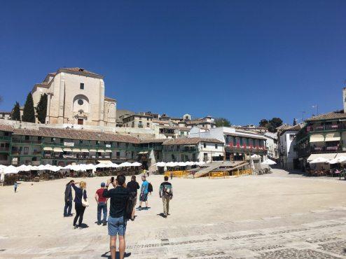 Colmenar de Oreja plaza mayor