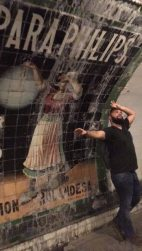 Metro Museum Panos vs advert