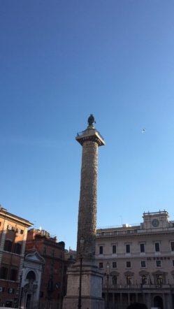 Piazza colonna, obelisco colonna