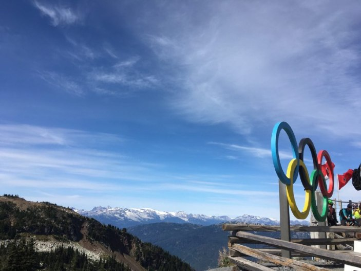 Whistler hosted the 2010 Winter Olympics