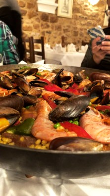 All the paella for my colleagues at L'Écureuil Espagnol - Antibes Water meetup 22-28.02.2018