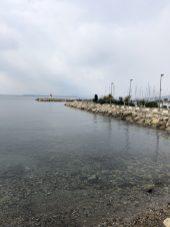 Antibes tiny port entrance - Antibes Water meetup 22-28.02.2018