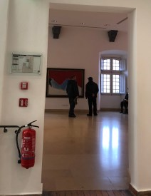 A cheeky extinguisher spotted at the Picasso Museum!