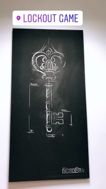 Escape Room activity at Lockout Game - Antibes Water meetup 22-28.02.2018