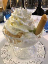 My gelato cup at restaurant Albert 1er - Antibes Water meetup 22-28.02.2018