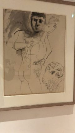 One of my fav drawings at the Picasso Museum - Antibes Water meetup 22-28.02.2018