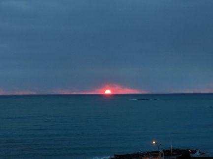 Sunrise in Antibes, ph creds CK Allas 22-28.02.2018