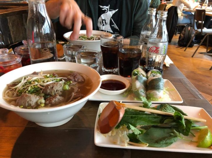 vietnamese food, phocafe reading, pho soup