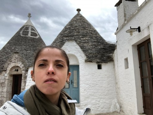 Me in Alberobello