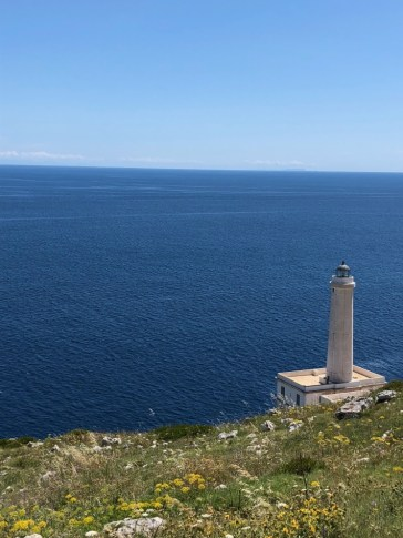 Otranto lighthouse - easternmost point of continental Europe