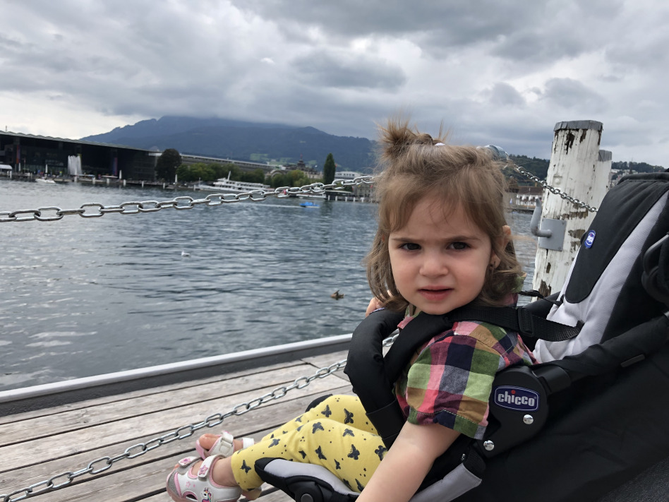 travelling with a toddler lucerne lake