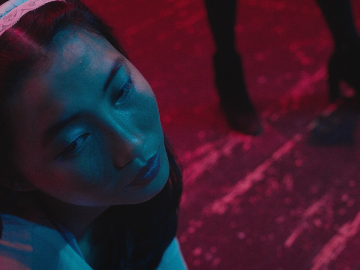 """Shirley Chen in a still from """"Beast Beast,"""" directed by Danny Madden, and produced by Vanishing Angle."""