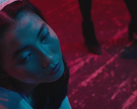 "Shirley Chen in a still from ""Beast Beast,"" directed by Danny Madden, and produced by Vanishing Angle."