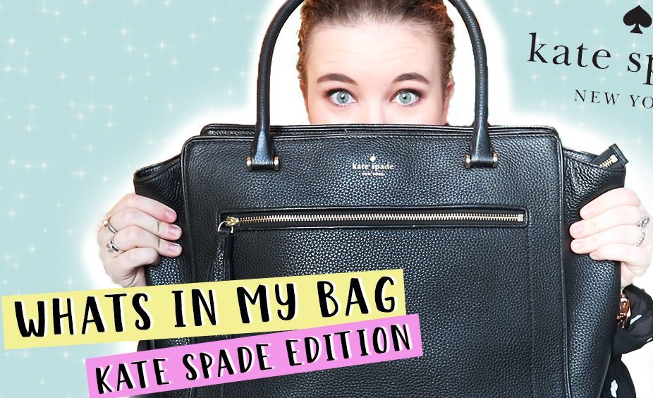 Whats in my Bag? - Kate Spade Edition (Video)